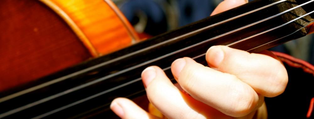 Lois Geertz, violinist